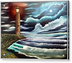 Night Light Acrylic Print by Joyce Krenson