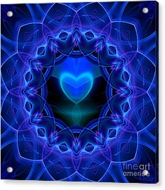 Night Love Gift Acrylic Print