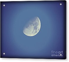 Night Moon Rising Acrylic Print
