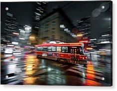 Night Moves Acrylic Print by Jason Crockett