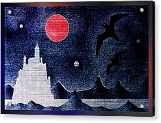 Night Of The Blood Moon Acrylic Print by Hartmut Jager