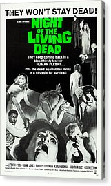 Night Of The Living Dead Acrylic Print by MMG Archives