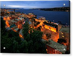 Night On The St Lawrence Acrylic Print