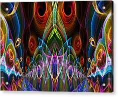 Acrylic Print featuring the digital art Night On The Town by Owlspook