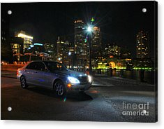 Night Out In Boston Acrylic Print