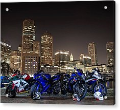 Night Out Acrylic Print