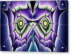 Night Owl Acrylic Print by Anastasiya Malakhova