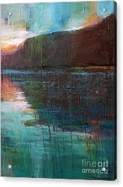Night Passage Acrylic Print by Melody Cleary