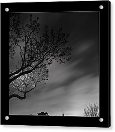 Acrylic Print featuring the photograph Night Passing by Kevin Bergen