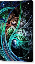 Night Phoenix Acrylic Print