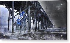 Night Run II Acrylic Print by Betsy Knapp