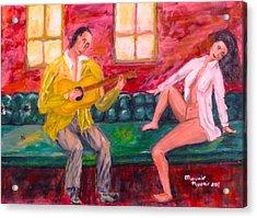 Night Serenade Acrylic Print by Mounir Mounir