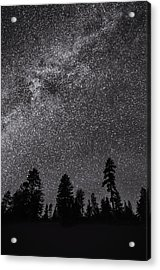 Night Serenity Acrylic Print by Nancy Strahinic