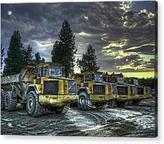 Night Shift Acrylic Print by Daniel Hagerman
