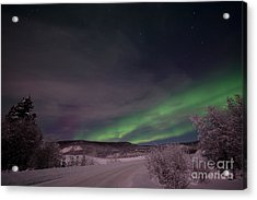 Night Skies Acrylic Print by Priska Wettstein