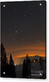 Night Sky, Carinthia, Austria Acrylic Print by Babak Tafreshi