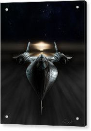 Night Stalker Acrylic Print by Peter Chilelli