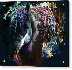 Night Stallion Acrylic Print