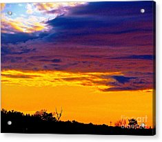 Night Thinks Of Day Acrylic Print by Q's House of Art ArtandFinePhotography