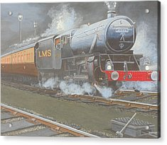 Night Train Acrylic Print by James Lawler