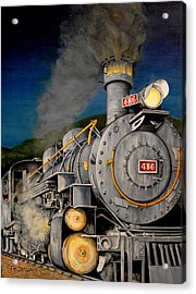 Night Train Acrylic Print