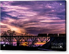 Night Train Acrylic Print