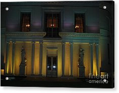 Night Yellow Acrylic Print
