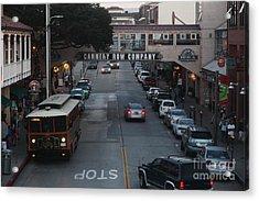 Nightfall Over Monterey Cannery Row California 5d25143 Acrylic Print