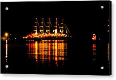 Nightlife On The Water Acrylic Print