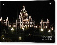 Nightly Parliament Buildings Acrylic Print