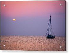 Night's Anchor Acrylic Print