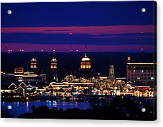 Nights Of Lights St. Augustine Acrylic Print
