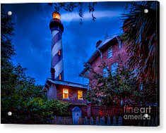 Nightshift Acrylic Print by Marvin Spates