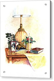 Nightstand Acrylic Print