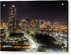 Acrylic Print featuring the photograph Nighttime by Heidi Smith