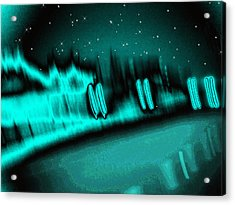 Nightwalkers Acrylic Print by Wendy J St Christopher
