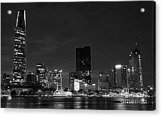 night Ho Chi Minh city Acrylic Print