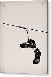 Nikes Acrylic Print by Tracy Salava