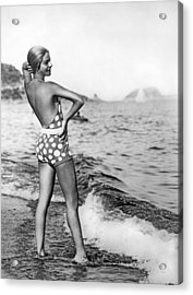 Nikitina's Bathing Suit Acrylic Print