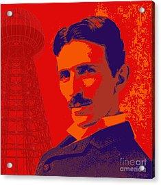 Nikola Tesla #1 Acrylic Print