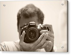 Nikon D7100 Acrylic Print by Bobby Mandal