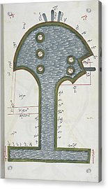 Nile Delta Acrylic Print by British Library