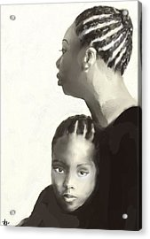 Nina And Lisa Simone Acrylic Print