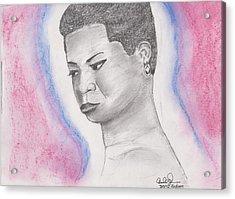 Nina Simone Acrylic Print by David Jackson