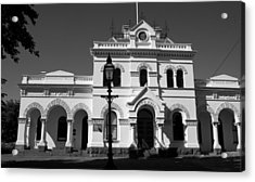 Nine Fourteen Civic Central Acrylic Print by Lee Stickels