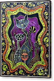 Nine Lives     Acrylic Print