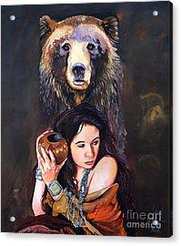 Nine Stars Woman - Bear Medicine Acrylic Print