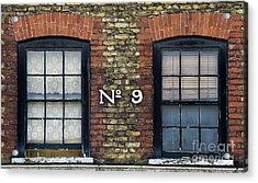 Nine  Acrylic Print by Tim Gainey