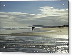 Ninety Mile Beach New Zealand Acrylic Print