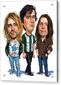 Nirvana Acrylic Print by Art